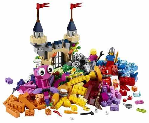 Lego 10404 Building Thinking - Fundo Do Oceano – 579 peças  - Doce Diversão