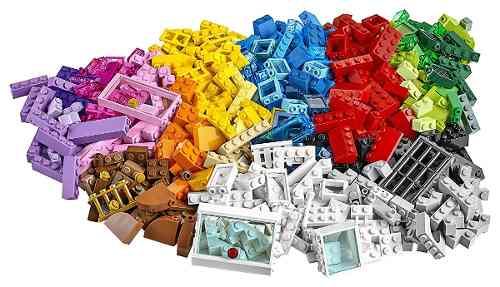Lego 10703 Classic Caixa Criativa de Construção Com livro de idéias 502 peças  - Doce Diversão