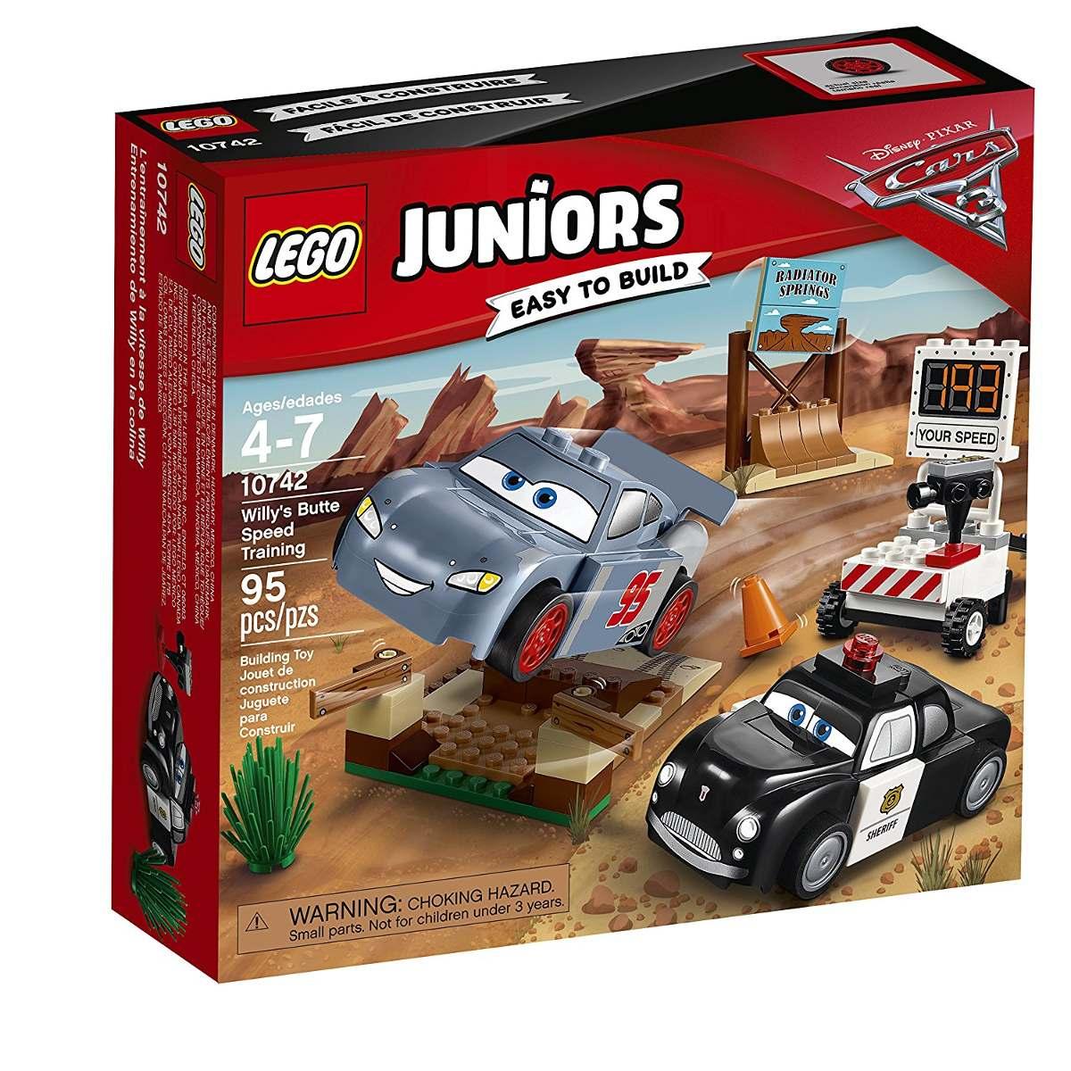 Lego 10742 Juniors - Carros 3 - o Treino de Velocidade de Willy´s Butte  - Doce Diversão