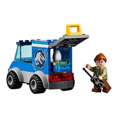 Lego 10758 Juniors Jurassic World Fuga de T-Rex – 150 peças  - Doce Diversão
