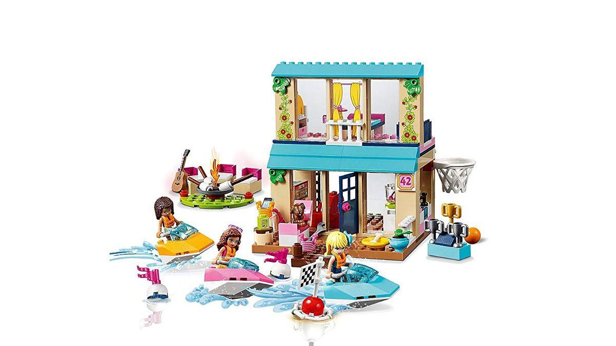 Lego 10763 friends Juniors Casa Do Lago Da Stephanie 215 Peças  - Doce Diversão