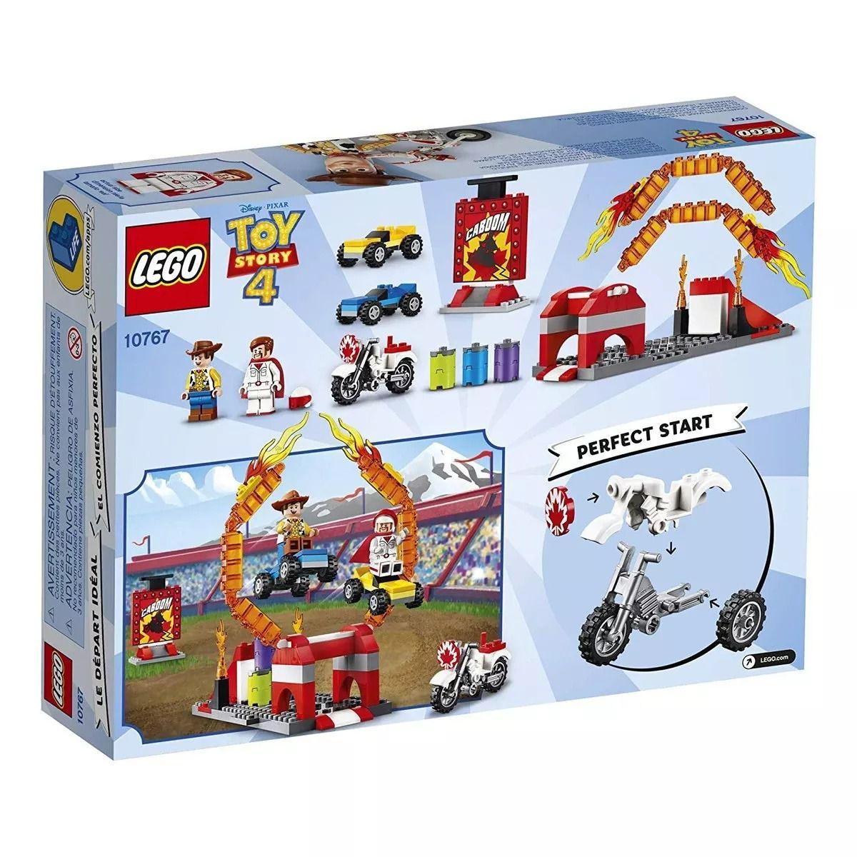 Lego 10767 Toy Story 4 – Espetáculo De Acrobacias De Duke e Woody - 120 peças  - Doce Diversão