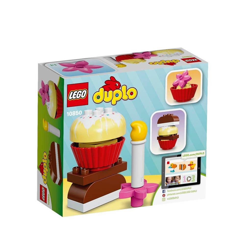 Lego 10850 Duplo Os Meus Primeiros Bolos   - Doce Diversão
