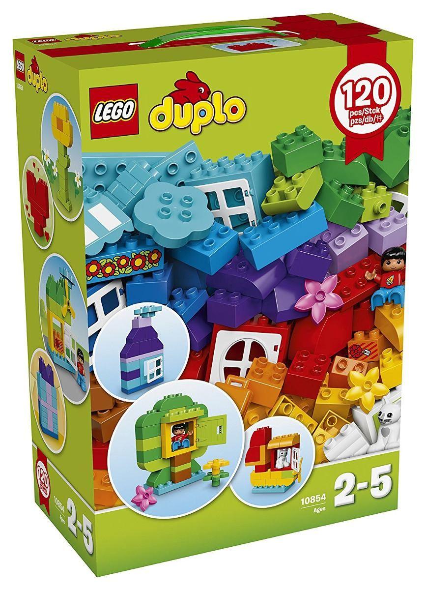 Lego 10854 Duplo Caixa Grande Criativa 120 peças  - Doce Diversão