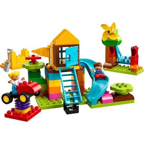 Lego 10864 Duplo – Caixa Criativa de Peças Grandes Parquinho de Diversões  - Doce Diversão