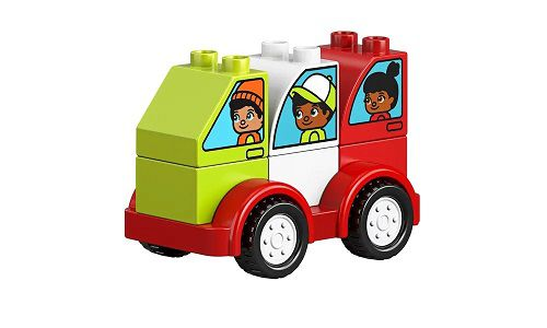 Lego 10886 Duplo - Minhas Primeiras Criações de Carros – 34 peças  - Doce Diversão