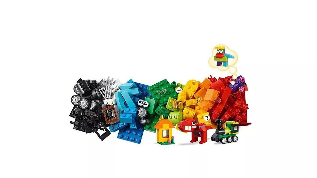 Lego 11001 Classic – Caixa Peças e Idéias – 123 peças  - Doce Diversão