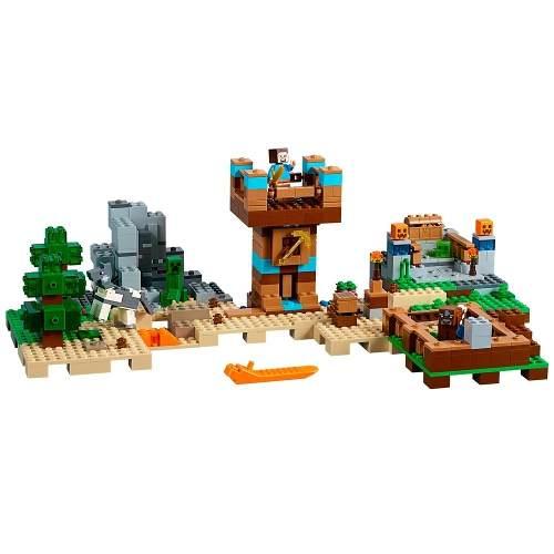 Lego 21135 Minecraft - A Caixa de Minecraft 2.0  - 717peças  - Doce Diversão