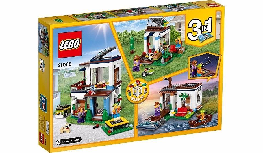 Lego 31068 Creator Casa Moderna 3 em 1 - 386 peças  - Doce Diversão
