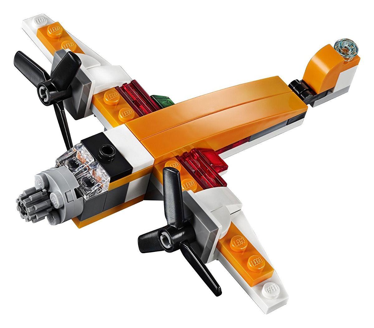 Lego 31071 Creator 3 em 1 Drone Explorador – 109 peças  - Doce Diversão