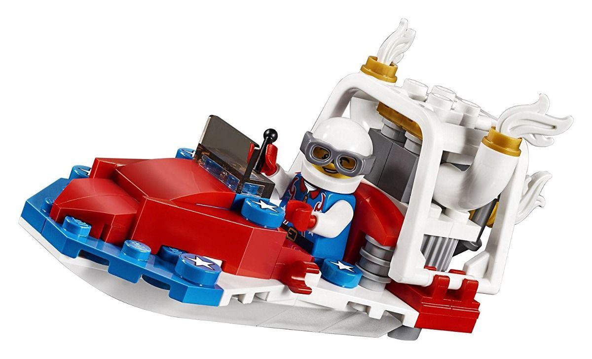 Lego 31076 Creator  Avião de Acrobacias Ousadas 3 em 1 – 200 peças  - Doce Diversão
