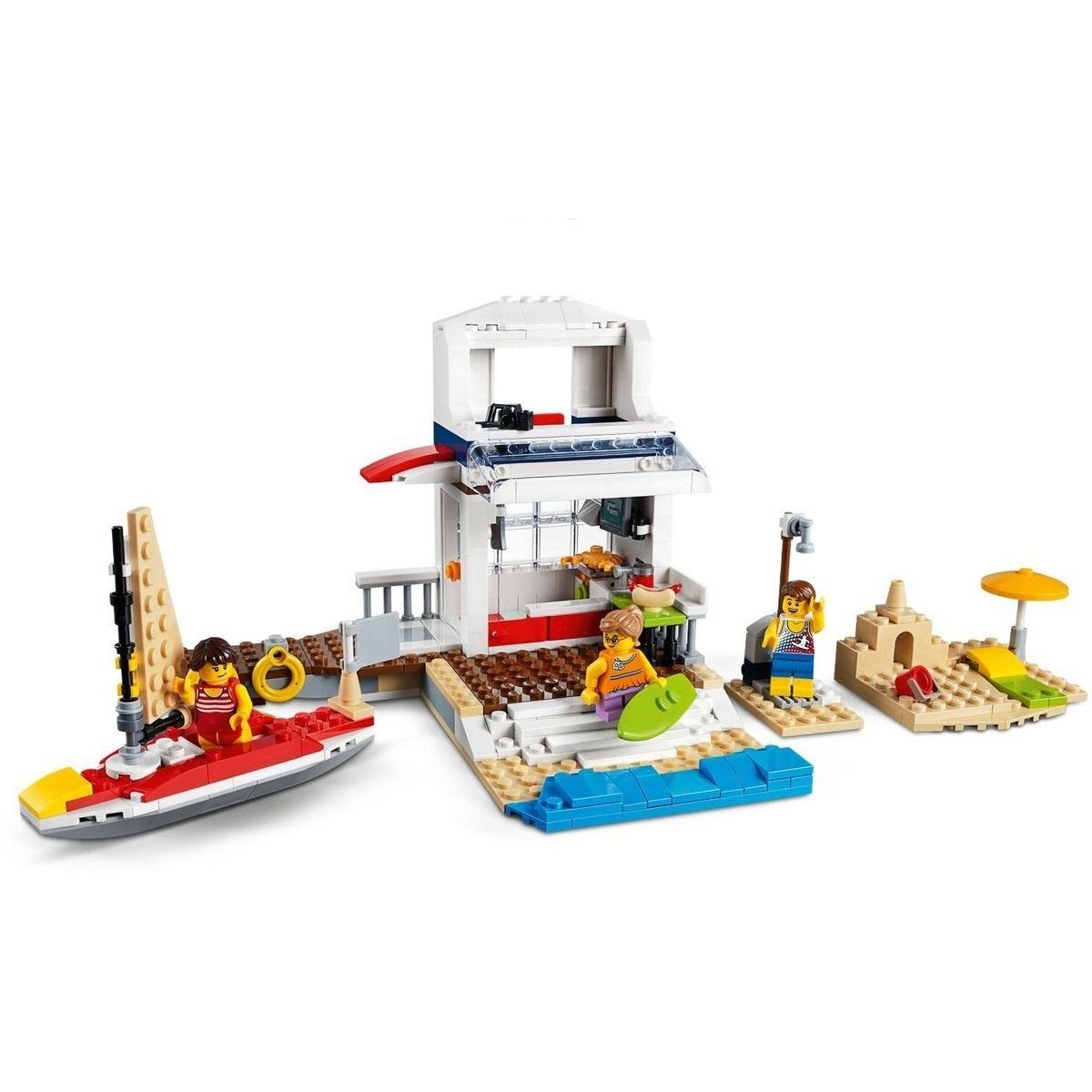 Lego 31083 Creator Aventuras No Cruzeiro 3 em 1 - 597 peças  - Doce Diversão