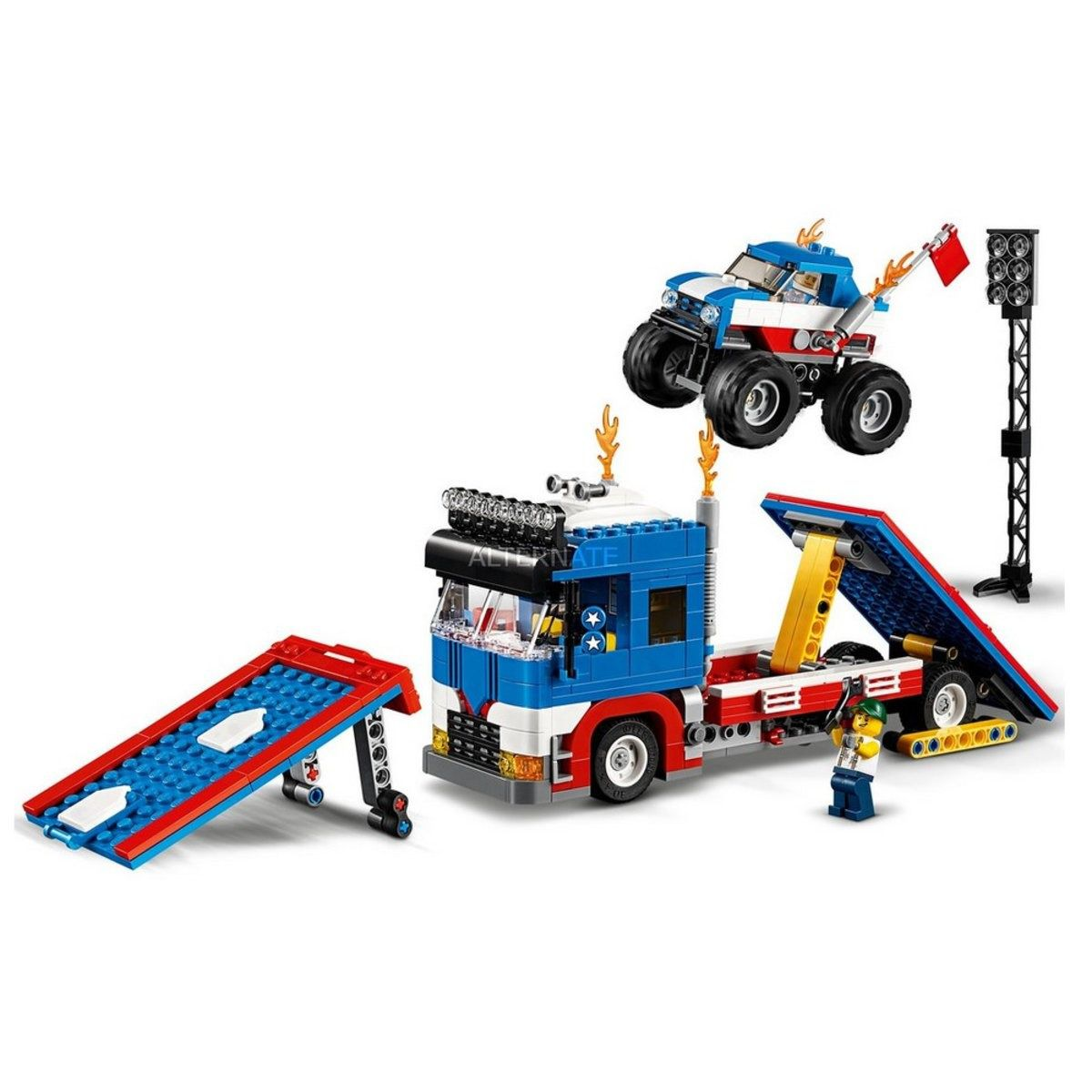 Lego 31085 Creator Espetaculo De Acrobacia Movel – 581 peças   - Doce Diversão