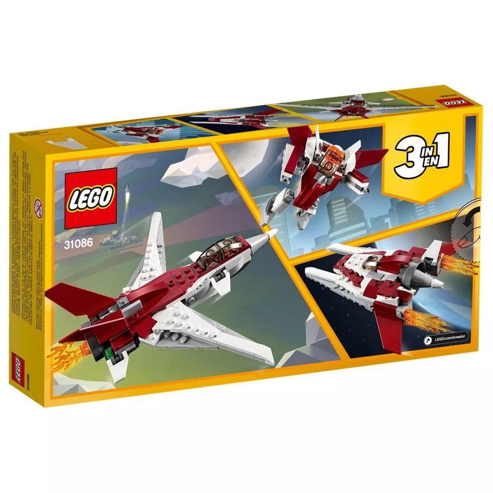 Lego 31086 Creator - 3 Em 1 - Aviões Futurísticos – 157 peças  - Doce Diversão