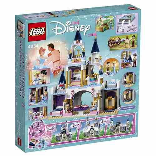 Lego 41154 Princesas Disney - Castelo Dos Sonhos da Cinderela - 585 peças  - Doce Diversão