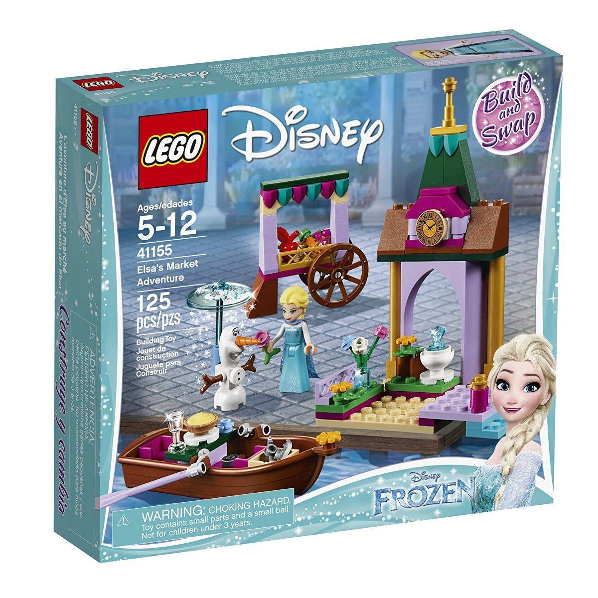 Lego 41155 Disney Frozen A Aventura da Elsa No Mercado- 125 peças  - Doce Diversão