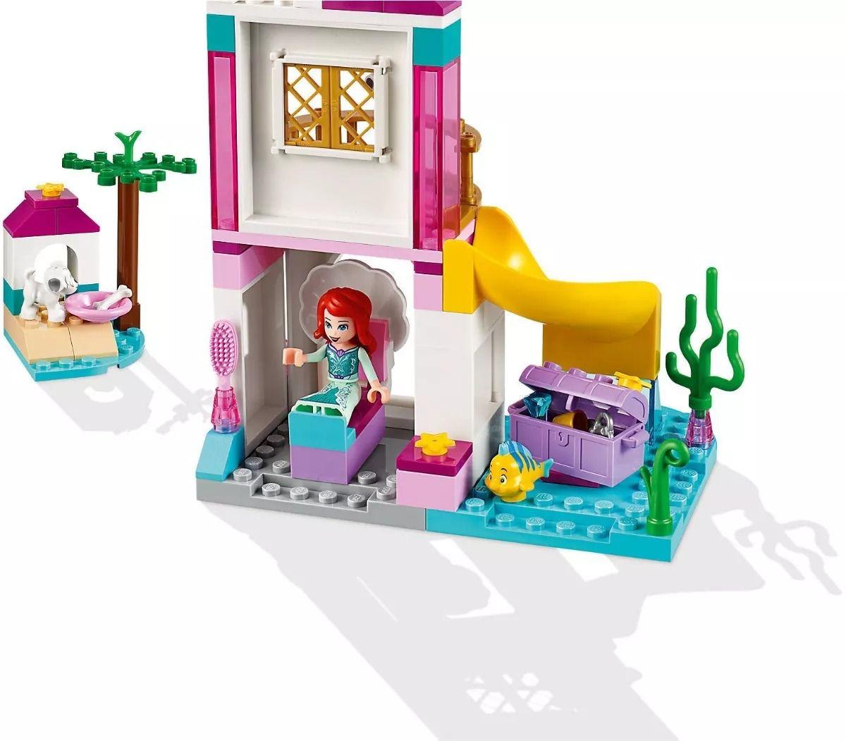Lego 41160 Princesas Disney - Castelo Á Beira-Mar da Ariel -115 peças  - Doce Diversão