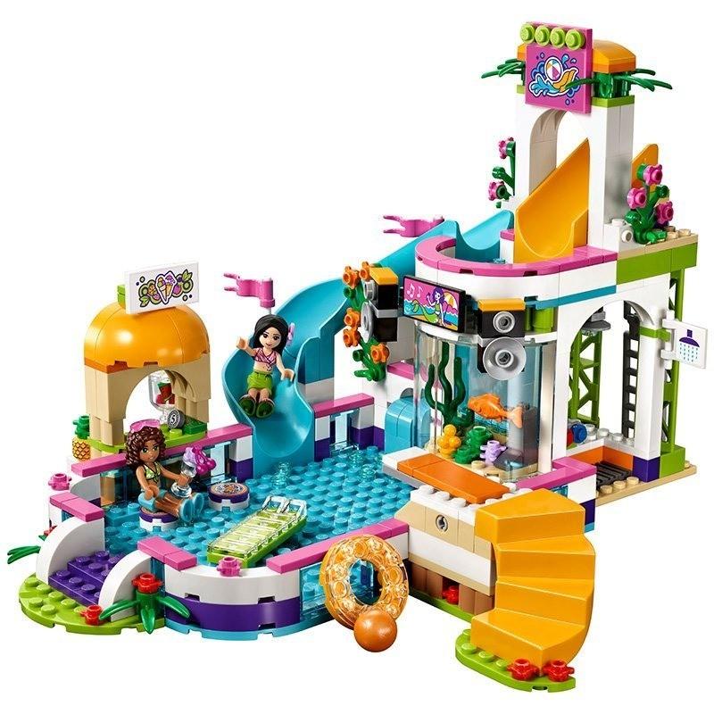 Lego 41313 Friends - Piscina de Verão de Heartlake – 589 peças  - Doce Diversão