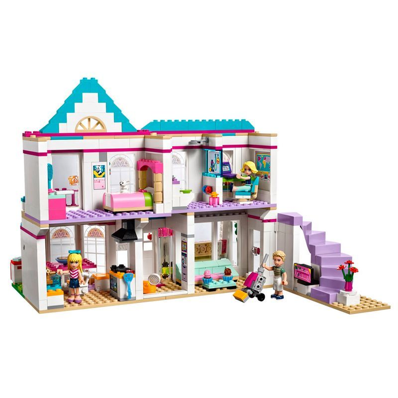 LEGO 41314  Friends – A Casa da Stephanie – 622 peças  - Doce Diversão
