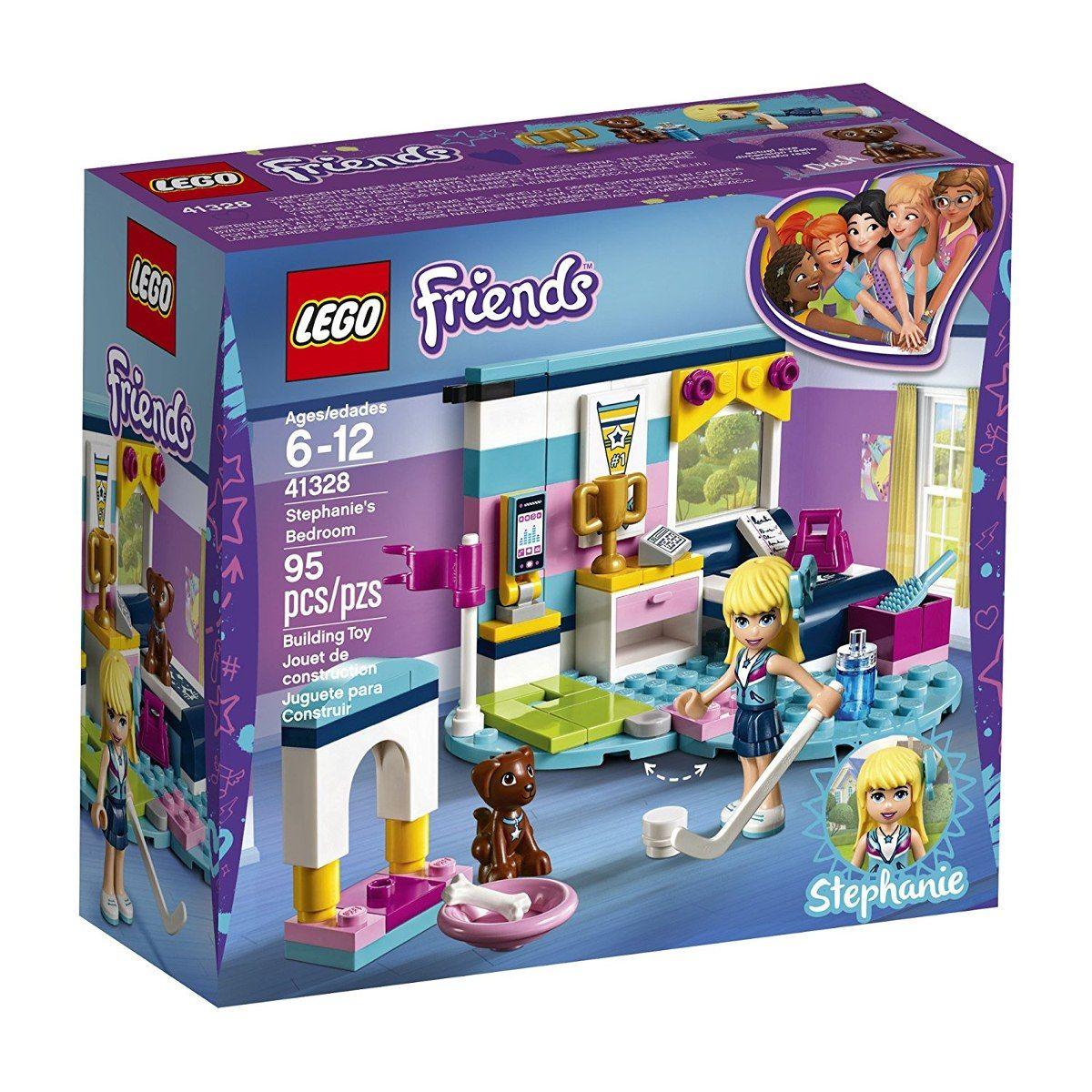 Lego 41328 Friends o Quarto da Stephanie – 95 peças  - Doce Diversão