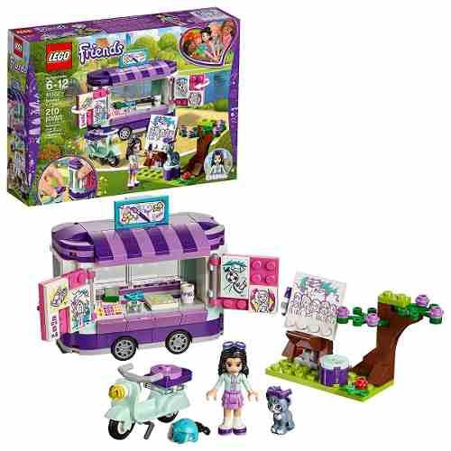 Lego 41332 Friends - A Banca de Arte da Emma 210 peças  - Doce Diversão