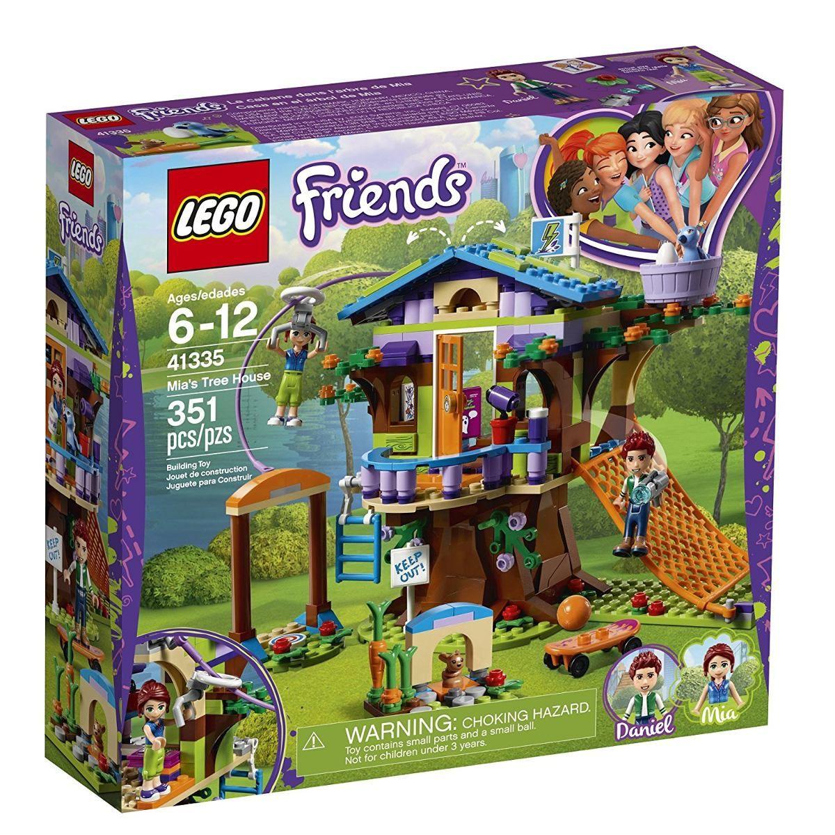 Lego 41335 Friends - a Casa da Árvore da Mia -351 peças  - Doce Diversão