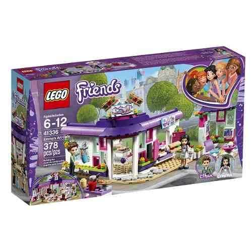 Lego 41336 Friends - O Café de Arte da Emma 378 peçaa  - Doce Diversão