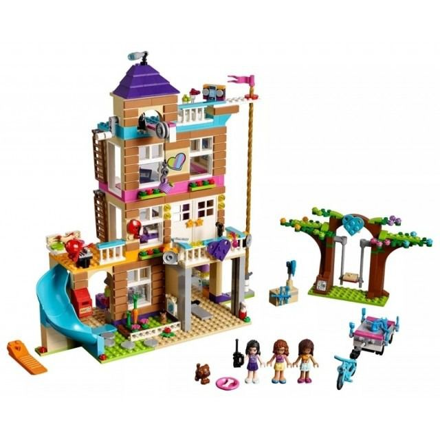 Lego 41340 Friends - Casa da Amizade  - 722 peças  - Doce Diversão
