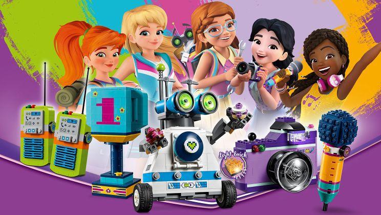 Lego 41346 Friends Caixa da Amizade das 5 amigas - 563 peças  - Doce Diversão