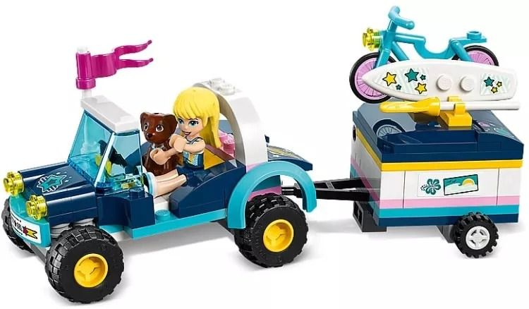 Lego 41364 Friends Buggy e Trailer da Stephanie -166 peças  - Doce Diversão