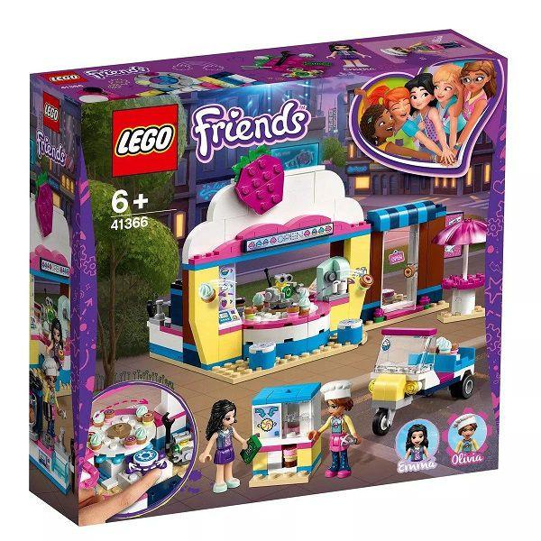 Lego 41366 Friends – Loja Café Cupcake da Olivia -335 peças  - Doce Diversão