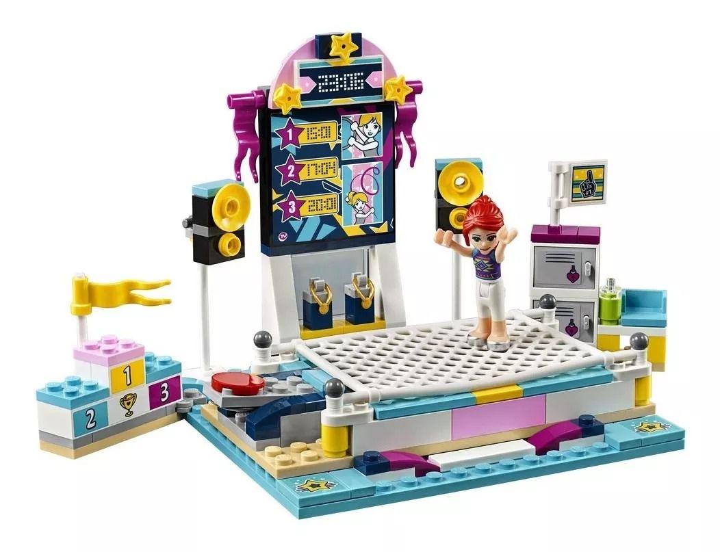 Lego 41372 Friends - O Show De Ginástica Da Stephanie – 241 peças  - Doce Diversão