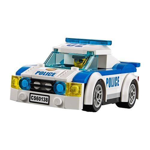 Lego 60138 – City – Perseguição em Alta Velocidade -294 peças  - Doce Diversão