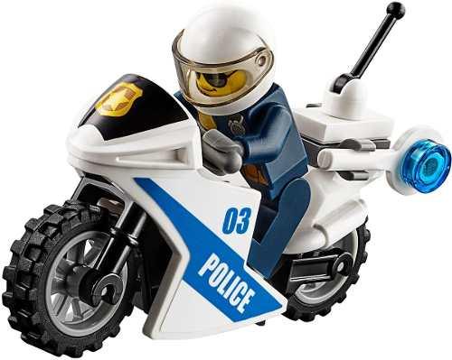 Lego 60139 - City - Centro de Comando Móvel -374 peças  - Doce Diversão