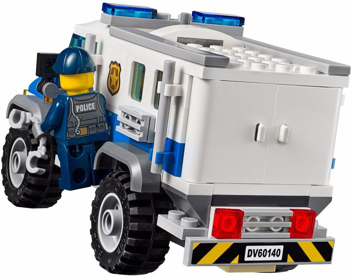 Lego 60140 – City Police - Invasão com Bulldozer – 561 peças  - Doce Diversão