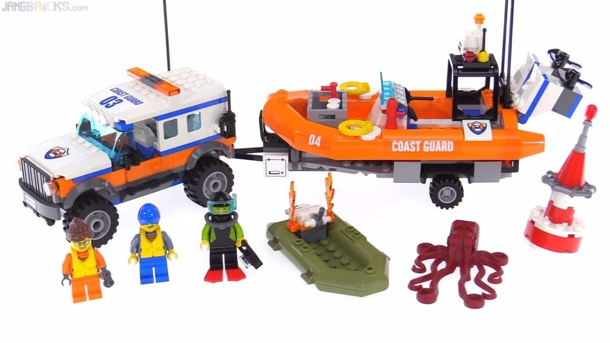 Lego 60165 City – Unidade de Resgate 4 x 4 – 347 peças  - Doce Diversão