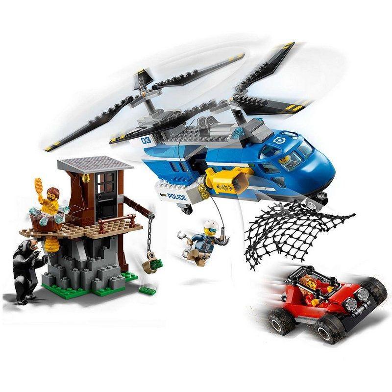Lego 60173 – City – Detenção na Montanha- 303 peças  - Doce Diversão
