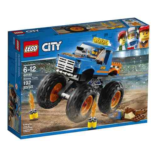 Lego 60180 City Monster Truck 192 peças  - Doce Diversão