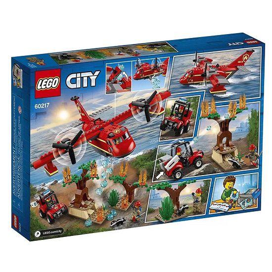 Lego 60217 City – Avião e Buggy de Combate Ao Fogo  -363 peças  - Doce Diversão