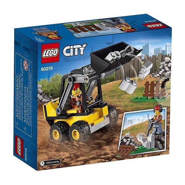 Lego 60219 City Trator Carregador da Construção – 88 peças  - Doce Diversão