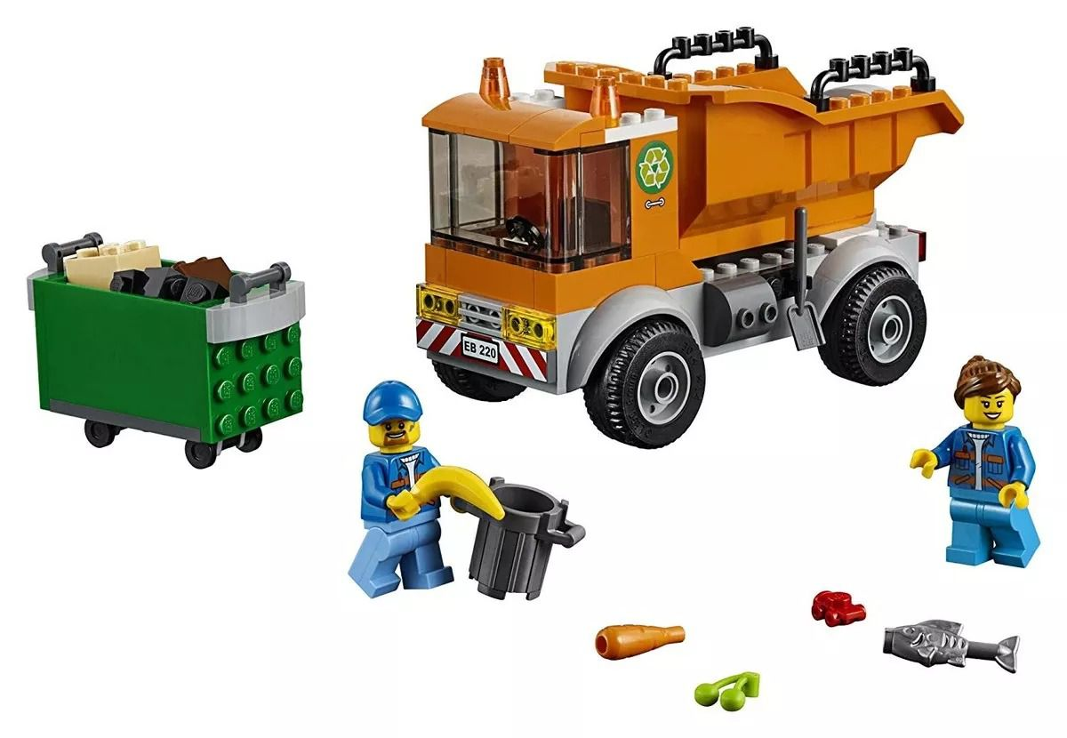 Lego 60220 City  Caminhão de Lixo – 90 peças  - Doce Diversão
