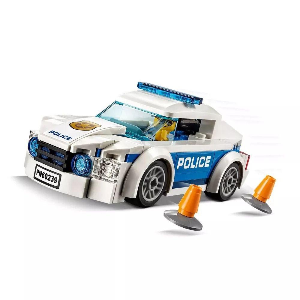 Lego 60239 City - Carro Patrulha da Polícia – 92 peças  - Doce Diversão
