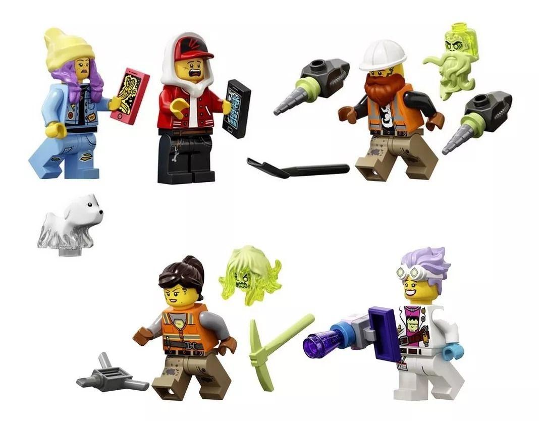 Lego 70423 Hidden Side - Ônibus Interceptor Paranormal 3000 Com APP – 689 peças  - Doce Diversão