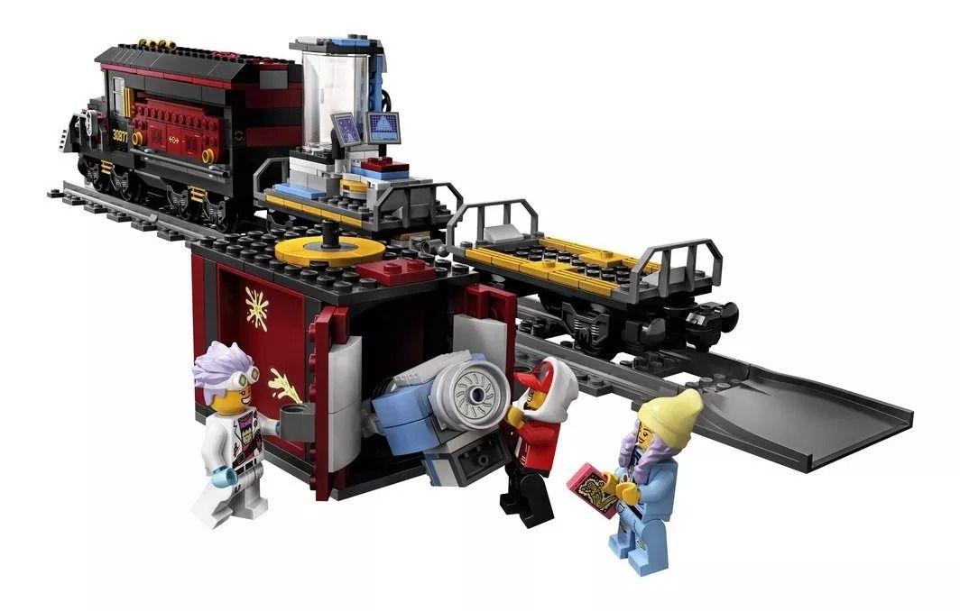 Lego 70424 Hidden Side – Expresso Fantasma Com APP – 698 peças  - Doce Diversão