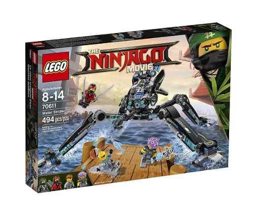 Lego 70611 Ninjago Filme -  Aranha Dágua – 494 peças  - Doce Diversão