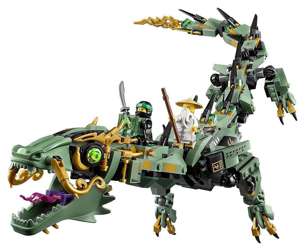 Lego 70612 Ninjago Filme -  Dragão do Ninja Verde – 544 peças  - Doce Diversão