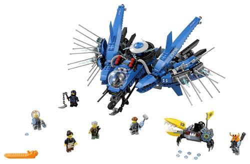 Lego 70614 Ninjago Filme -  Avião Relâmpago – 876 peças  - Doce Diversão