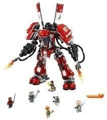 Lego 70615 Ninjago Filme – Robô de Fogo– 944 peças  - Doce Diversão