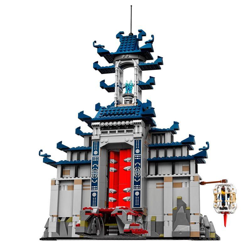 Lego 70617 Ninjago O Filme -  Templo Final Super Poderoso 1403 peças  - Doce Diversão