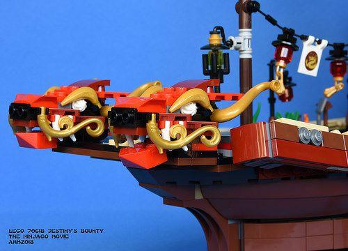 Lego 70618 Ninjago Filme - Navio Recompensa Do Destino 2295 Peças  - Doce Diversão